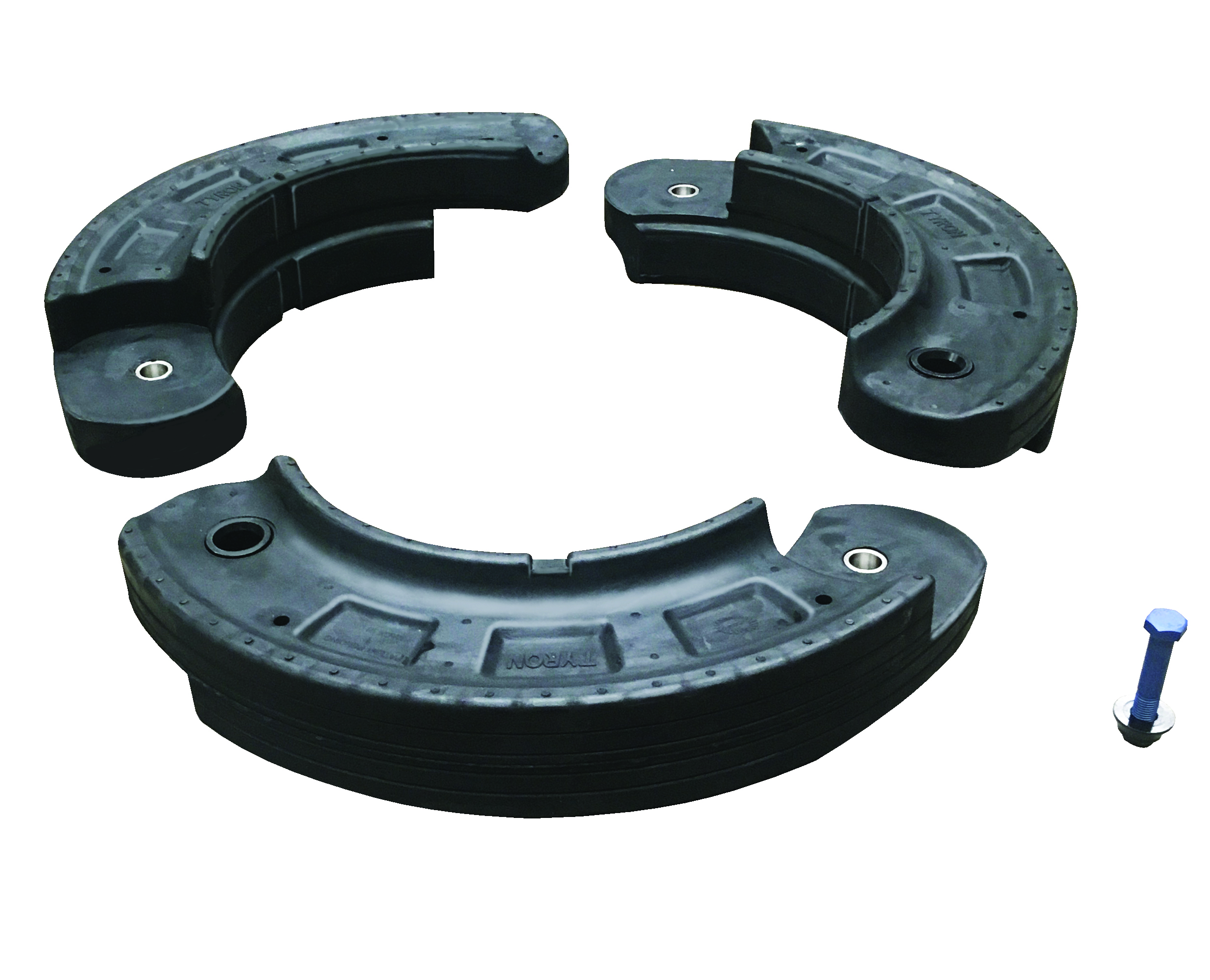The Tyron ATR-MP Runflat is the world's only rubber multi-piece runflat.